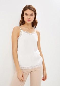 Топ, Vila, цвет: белый. Артикул: VI004EWDRQE8. Одежда / Топы и майки