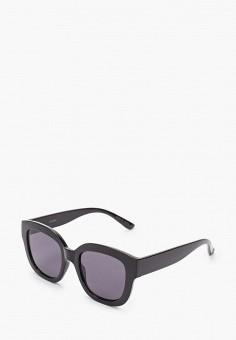 Очки солнцезащитные, Violeta by Mango, цвет: черный. Артикул: VI005DWKCIG2.
