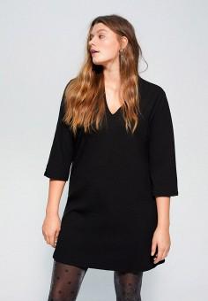 Платье, Violeta by Mango, цвет: черный. Артикул: VI005EWIIQC9.