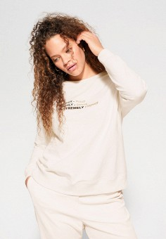 Джемпер, Violeta by Mango, цвет: белый. Артикул: VI005EWIUWB1. Одежда / Джемперы, свитеры и кардиганы / Джемперы и пуловеры / Джемперы