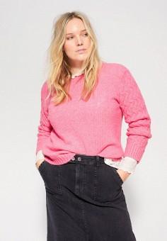 Джемпер, Violeta by Mango, цвет: розовый. Артикул: VI005EWIUYA6. Одежда / Джемперы, свитеры и кардиганы / Джемперы и пуловеры / Джемперы