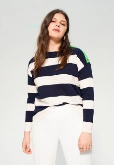 Джемпер, Violeta by Mango, цвет: мультиколор. Артикул: VI005EWJAMG9. Одежда / Джемперы, свитеры и кардиганы / Джемперы и пуловеры / Джемперы
