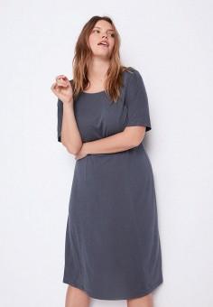 Платье, Violeta by Mango, цвет: синий. Артикул: VI005EWJKSZ9.