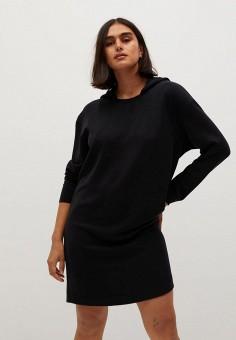 Платье, Violeta by Mango, цвет: черный. Артикул: VI005EWKKED0.