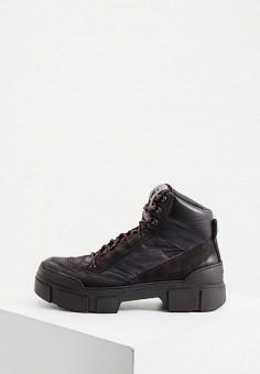 Ботинки, Vic Matie, цвет: черный. Артикул: VI030AMKJGY1. Обувь / Ботинки