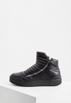 Ботинки, Vic Matie, цвет: черный. Артикул: VI030AMKKFC6. Обувь / Ботинки