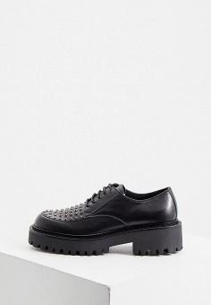 Ботинки, Vic Matie, цвет: черный. Артикул: VI030AWKJGW2. Обувь / Ботинки / Низкие ботинки