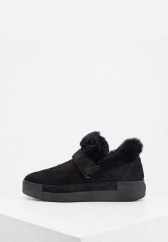 Слипоны, Vic Matie, цвет: черный. Артикул: VI030AWKKFC7. Обувь / Слипоны