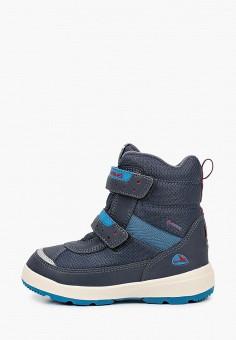 Ботинки, Viking, цвет: синий. Артикул: VI221ABKGFJ0. Мальчикам / Обувь / Ботинки