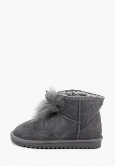 Полусапоги, Vivian Royal, цвет: серый. Артикул: VI809AWGISJ9. Обувь / Сапоги / Угги и унты
