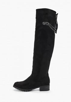 Ботфорты, Vivian Royal, цвет: черный. Артикул: VI809AWHHTC3. Обувь / Сапоги / Ботфорты