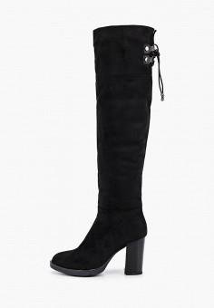 Ботфорты, Vivian Royal, цвет: черный. Артикул: VI809AWHHTC6. Обувь / Сапоги / Ботфорты