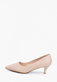 Туфли, Vivian Royal, цвет: бежевый. Артикул: VI809AWIJBD1. Обувь / Туфли / Лодочки