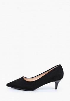 Туфли, Vivian Royal, цвет: черный. Артикул: VI809AWIJBD2. Обувь / Туфли / Лодочки
