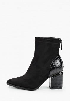 Ботильоны, Vivian Royal, цвет: черный. Артикул: VI809AWKISZ1. Обувь / Ботильоны
