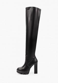 Ботфорты, Vivian Royal, цвет: черный. Артикул: VI809AWKISZ2. Обувь / Сапоги / Ботфорты