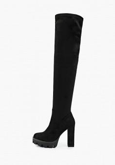 Ботфорты, Vivian Royal, цвет: черный. Артикул: VI809AWKISZ3. Обувь / Сапоги / Ботфорты