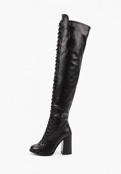 Ботфорты, Vivian Royal, цвет: черный. Артикул: VI809AWKISZ4. Обувь / Сапоги / Ботфорты
