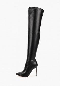 Ботфорты, Vivian Royal, цвет: черный. Артикул: VI809AWKISZ8. Обувь / Сапоги / Ботфорты