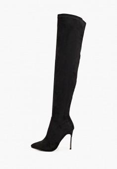 Ботфорты, Vivian Royal, цвет: черный. Артикул: VI809AWKISZ9. Обувь / Сапоги