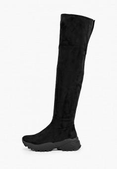Ботфорты, Vivian Royal, цвет: черный. Артикул: VI809AWKITA0. Обувь / Сапоги / Ботфорты