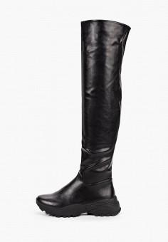 Ботфорты, Vivian Royal, цвет: черный. Артикул: VI809AWKITA1. Обувь / Сапоги / Ботфорты