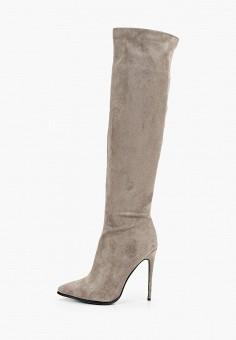 Ботфорты, Vivian Royal, цвет: серый. Артикул: VI809AWKITA2. Обувь / Сапоги / Ботфорты