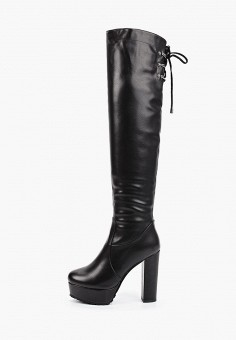 Ботфорты, Vivian Royal, цвет: черный. Артикул: VI809AWKITB9. Обувь / Сапоги / Ботфорты