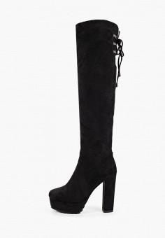 Ботфорты, Vivian Royal, цвет: черный. Артикул: VI809AWKITC0. Обувь / Сапоги / Ботфорты