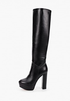 Ботфорты, Vivian Royal, цвет: черный. Артикул: VI809AWKITC4. Обувь / Сапоги / Ботфорты