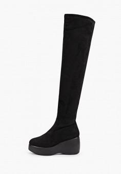 Ботфорты, Vivian Royal, цвет: черный. Артикул: VI809AWKITC8. Обувь / Сапоги / Ботфорты