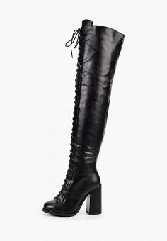 Ботфорты, Vivian Royal, цвет: черный. Артикул: VI809AWKITD1. Обувь / Сапоги