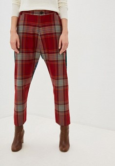 Брюки, Vivienne Westwood, цвет: красный. Артикул: VI873EWFWDV3. Одежда / Брюки