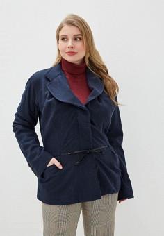 Жакет, Vivienne Westwood Anglomania, цвет: синий. Артикул: VI989EWFWEQ2. Одежда / Пиджаки и костюмы