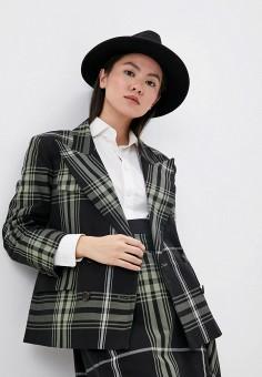 Пиджак, Vivienne Westwood Anglomania, цвет: черный. Артикул: VI989EWIHLH3. Одежда / Пиджаки и костюмы