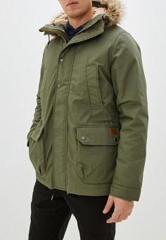 Куртка утепленная, Volcom, цвет: хаки. Артикул: VO001EMHGSO0. Одежда / Верхняя одежда / Пуховики и зимние куртки