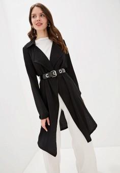 Кардиган, Wallis, цвет: черный. Артикул: WA007EWGMOX8. Одежда / Джемперы, свитеры и кардиганы / Кардиганы
