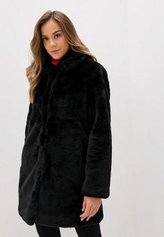 Шуба, Wallis, цвет: черный. Артикул: WA007EWHDEJ9. Одежда / Верхняя одежда / Шубы и дубленки