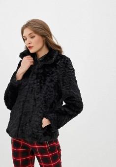 Шуба, Wallis, цвет: черный. Артикул: WA007EWHLUK8. Одежда / Верхняя одежда / Шубы и дубленки