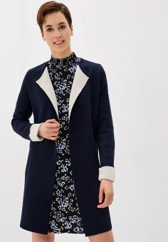 Кардиган, Wallis, цвет: синий. Артикул: WA007EWIATN4. Одежда / Джемперы, свитеры и кардиганы / Кардиганы