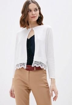 Кардиган, Wallis, цвет: белый. Артикул: WA007EWISSA6. Одежда / Джемперы, свитеры и кардиганы / Кардиганы