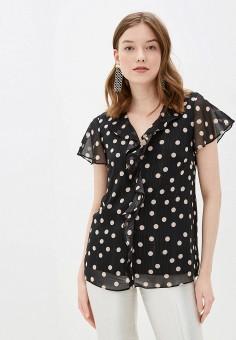 Блуза, Wallis, цвет: черный. Артикул: WA007EWJCZG9. Одежда / Одежда больших размеров