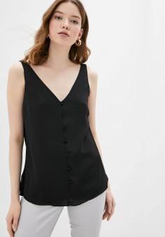 Блуза, Wallis, цвет: черный. Артикул: WA007EWJCZH0. Одежда / Одежда больших размеров
