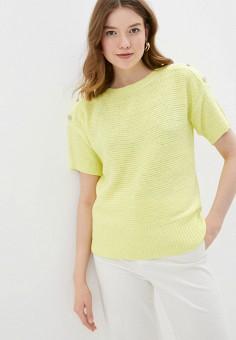 Джемпер, Wallis, цвет: желтый. Артикул: WA007EWJCZI7. Одежда / Джемперы, свитеры и кардиганы / Джемперы и пуловеры