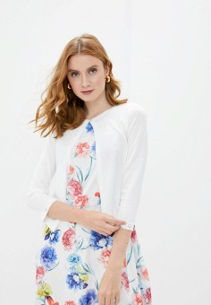 Кардиган, Wallis, цвет: белый. Артикул: WA007EWJGKW7. Одежда / Джемперы, свитеры и кардиганы / Кардиганы