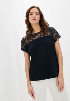Блуза, Wallis, цвет: синий. Артикул: WA007EWKBOB1. Одежда / Блузы и рубашки / Блузы