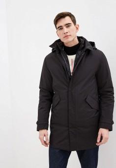 Куртка утепленная, Warren Webber, цвет: черный. Артикул: WA010EMHTIH7. Одежда / Верхняя одежда / Пуховики и зимние куртки