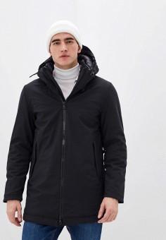 Куртка утепленная, Warren Webber, цвет: черный. Артикул: WA010EMHTIH8. Одежда / Верхняя одежда / Пуховики и зимние куртки