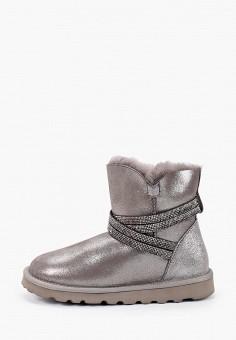 Полусапоги, Winzor, цвет: серебряный. Артикул: WI011AWGMLS1. Обувь / Сапоги