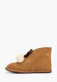 Полусапоги, Winzor, цвет: коричневый. Артикул: WI011AWGMLS6. Обувь / Сапоги / Полусапоги